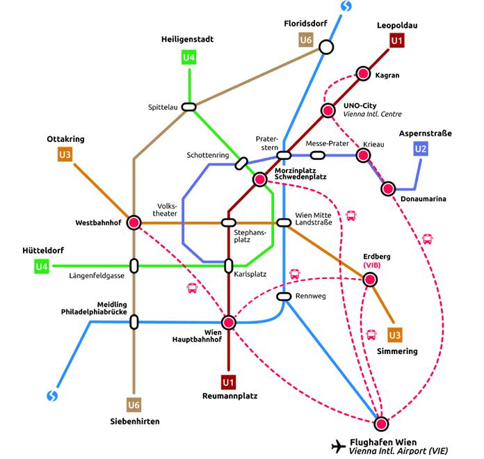 Wienin lentokenttä juna